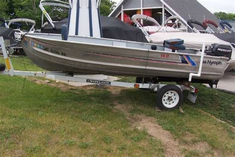 sea nymph boats for sale in michigan 1987 sea nymph 14 r frankfort mi for sale in frankfort