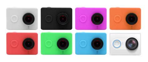 Silicon Lens Cap Untuk Xiaomi Yi Black Green xiaomi yi silicone and lens cap hitam lazada