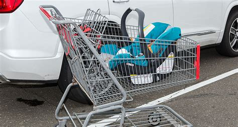 grocery cart baby seat do s and dont s of using an infant car seat consumer reports