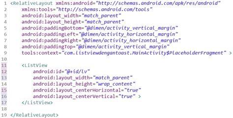 cara membuat file xml di android cara membuat listview dengan toast di android