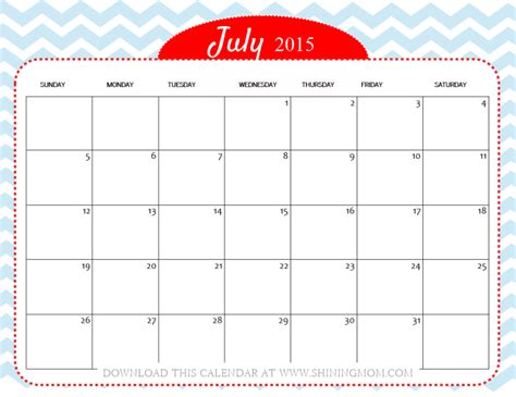 printable schedule july 2015 free appointment calendar templates 2015