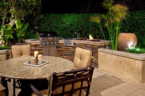 backyard bbq designs patio traditional with covered grill