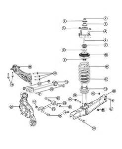 Dodge Chrysler Parts Suspension Rear