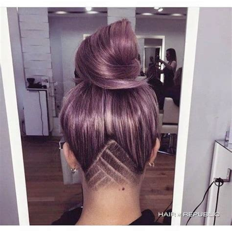 back views of shaved hair l undercut au f 233 minin la grande tendance de ce printemps