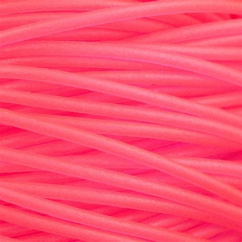 pink soft glass hollow tubing for bead stringing 2 5mm