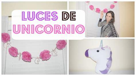 ideas para decorar tu cuarto de unicornio como decorar un cuarto de ni 209 a unicornio con luz