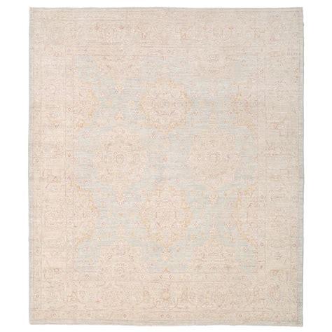 how to dye a wool rug afghan knotted vegetable dye whitewash oushak wool rug 7 8 x 8 9 herat rugs