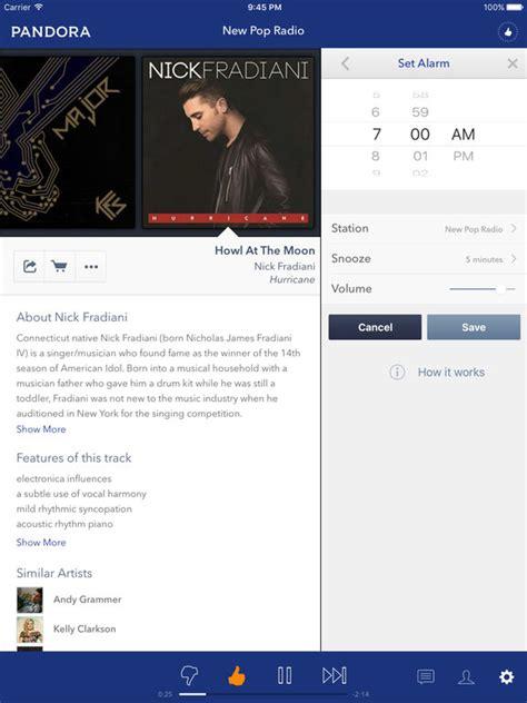 pandora internet radio listen to free music youll love pandora one cracked app