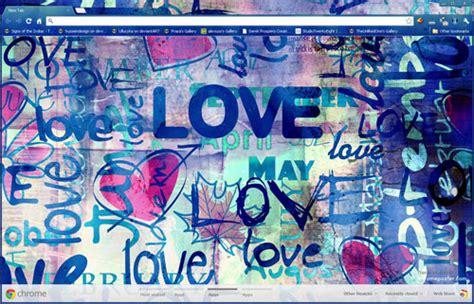 graffiti theme for google chrome emo style love graffiti google chrome theme by vrkm2003 on
