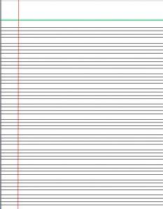 printable handwriting paper 4 lines english writing paper printable printable pages