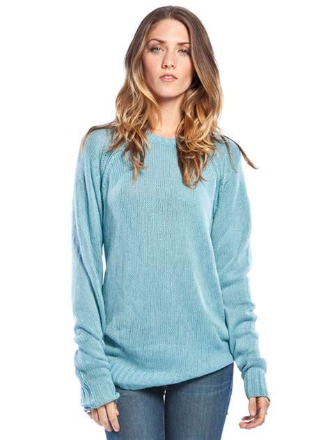 Sweater Yahoo light blue sweater womens coat nj