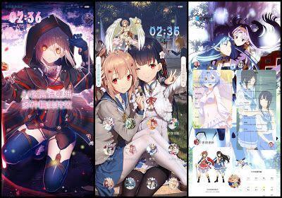 pin  anime themes  xiaomi miui