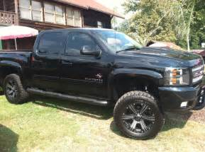 black widow chevy silverado 1500 ltd blacked out