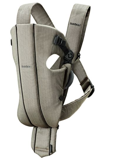 Organic Baby Carrier by New Babybjorn Baby Carrier Organic Original Black Ebay