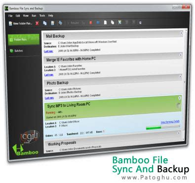 ci bamboo tutorial bamboo file sync and backup 3 0 8