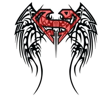 tribal superman tattoo pictures 12 awesome superman designs and ideas