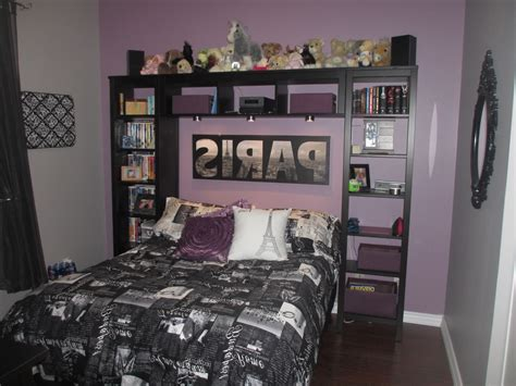 bedroom teens room purple and grey paris themed teen bedroom room ideas then teen room decor teenage girls room decor interior design ideas clipgoo