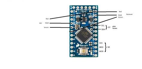 attachment browser arduino pro mini   pins