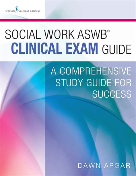 social work aswb masters guide a comprehensive study guide for success social work aswb clinical guide a comprehensive