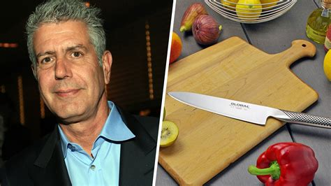 anthony bourdain on kitchen knives the best chef s knife is anthony bourdain s chef s knife