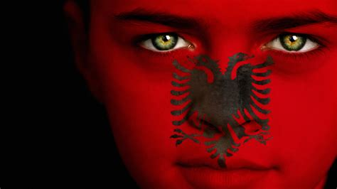 hd albanian flag wallpaper pixelstalknet