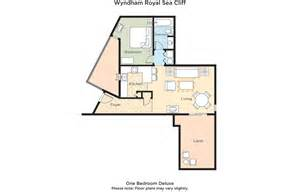 Wyndham Kona Hawaiian Resort Floor Plan by Club Wyndham Wyndham Royal Sea Cliff