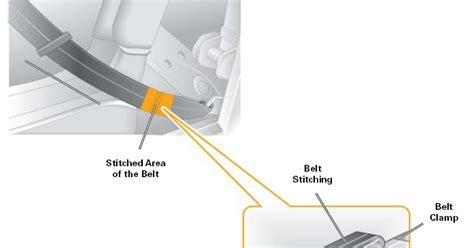 Tali Pinggang Auto Rell 3 nota automotif penghad tegangan tali pinggang keselamatan