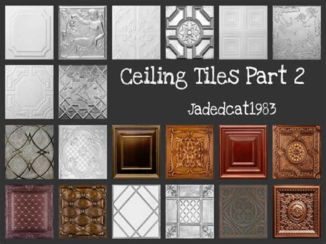 Set Ceiline Cc jadepanther198303 s ceiling tiles part 2