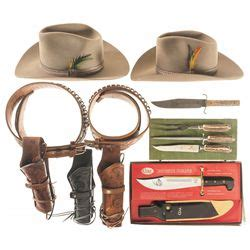 Western Themed Giveaways - miscellaneous western themed items and knives