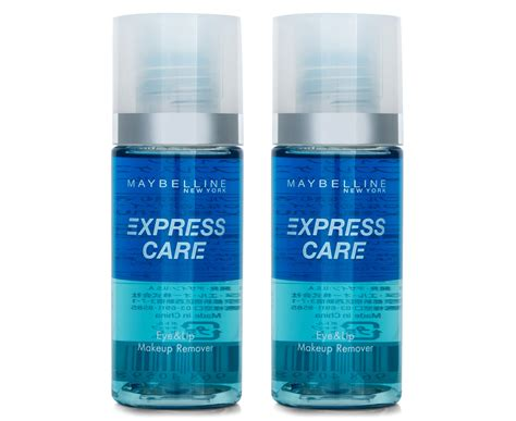 Maybelline Eye And Lip Makeup Remover 2 x maybelline express care eye lip makeup remover 90ml great daily deals at australia s