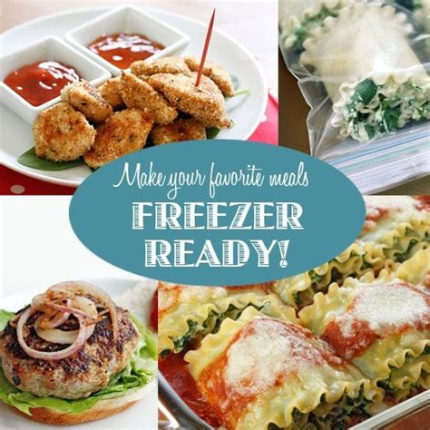 cooking light ready made meals breaky breakfasts how to make your favorite meals freezer