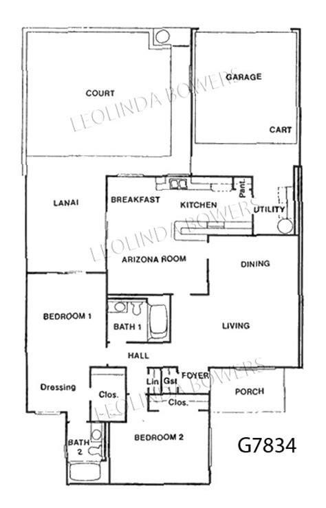 garden apartment floor plans sun city west g7834 garden apartment floor plan