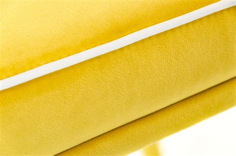 modern yellow modrest tigard mid century yellow fabric dining chair