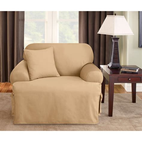 sure fit logan slipcover sure fit 174 logan t cushion chair slipcover 292831