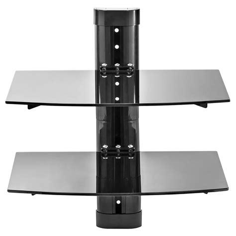 Av Floating Shelf by 2 Shelf Floating Wall Mount Dvd Tv Component Av Console