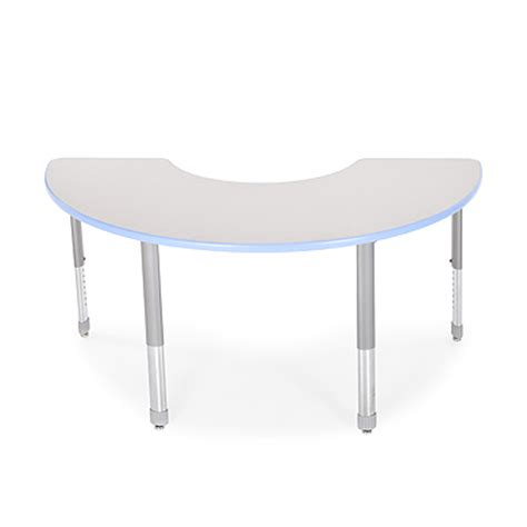 half moon activity table classroom tables smith system