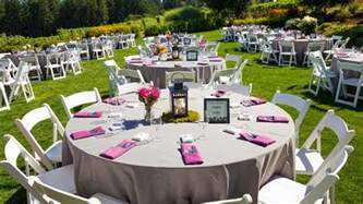 Backyard Wedding Ceremony And Reception by Wedding Reception Outdoor Venues Our Wedding Ideas