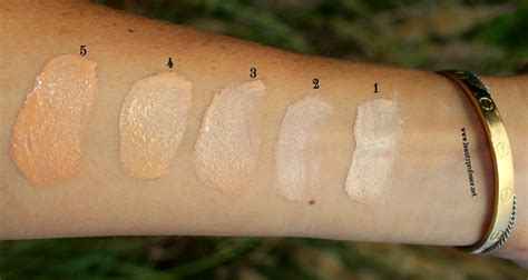 Tilbury Light Foundation Swatches