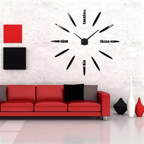 Jam Dinding Diy 30 50cm 40069 jam dinding besar diy 80 130cm diameter elet00661