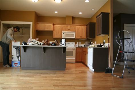 stain kitchen cabinets white polished oak wood cabinets