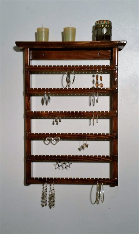 earring display wall mounted earring holder by