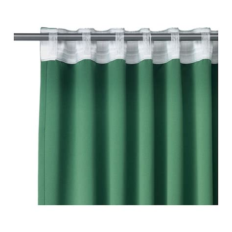 werna curtains ikea werna block out curtains 1 pair the curtains can be