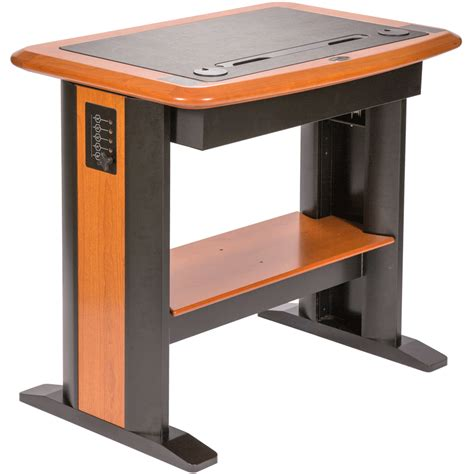 stand up desk stand standing computer desk petite caretta workspace