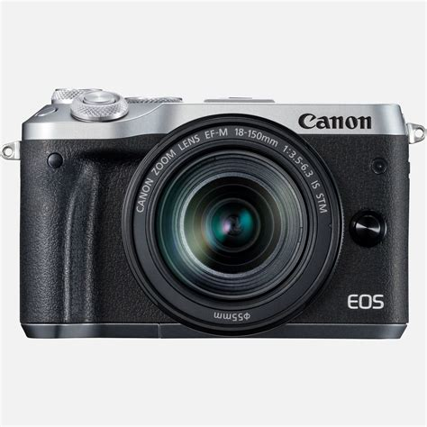 Canon Eos N buy canon eos m6 ef m 18 150mm is stm silver lens in wi