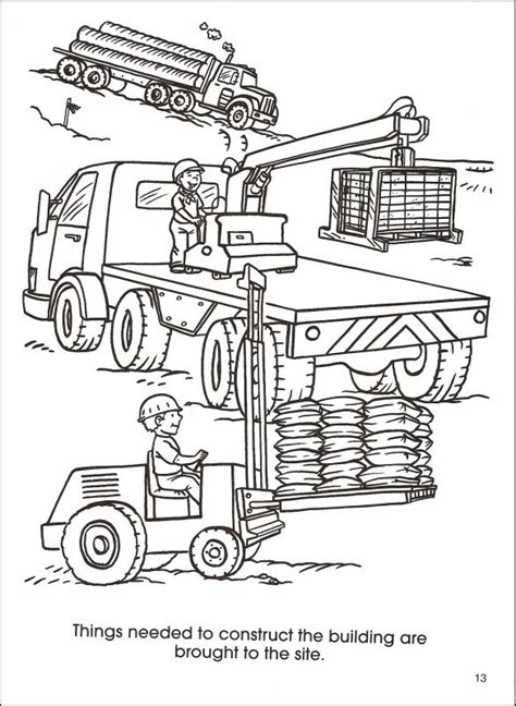 coloring book website free construction site coloring pages