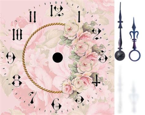 flower clock template 25 unika clock faces id 233 er p 229