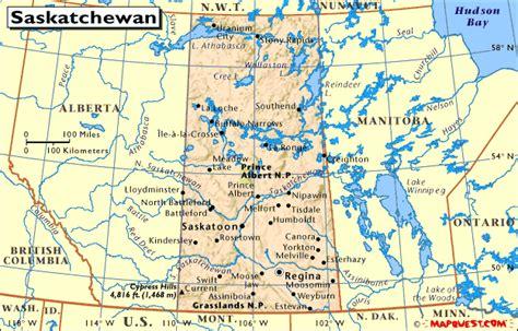 map of saskatchewan canada with cities canada provincial map of saskatchewan