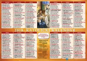 Hrvatski Kalendar 2018 Jednolisni Kalendari 2018
