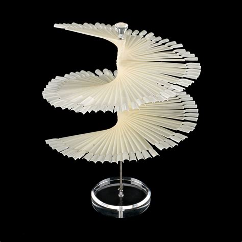 Spiral Rack Display by Aliexpress Buy 120pcs Nature Color Spiral Fan Tip