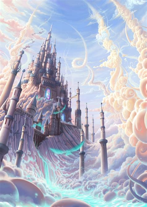 Anime Kingdom by Lost Castle Illustrationscoolvibe Digital